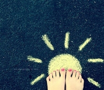 chalk-cute-drawing-happy-sunshine-walking-on-sunshine-40585