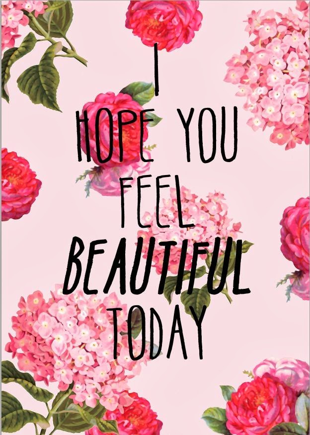 Feel the beautiful today   Pam Grout